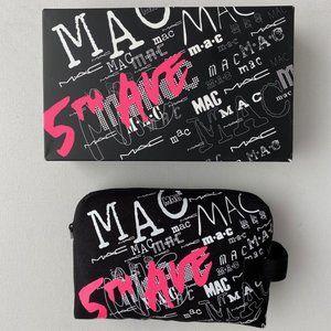 MAC 5th Avenue Style Voyager Cotton Makeup Bag